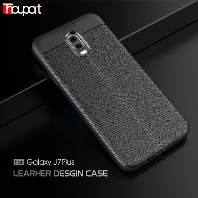 c9b882724dd Thouport For Samsung Galaxy J7 Plus Case Silicone For Galaxy C8 Cases  ShockProof TPU Cover For