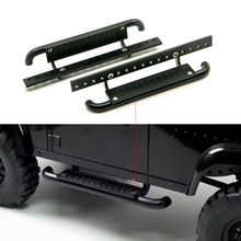 1Pair High Quality Metal Side Pedal Plate for 1 10 RC Rock Crawler Axial SCX10 RC4WD