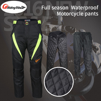Motorcycle Riding Pants Motocross Rally Motorbike Dirt Bike MTB Racing Trousers with Knee pads and Removable Lining HP-08