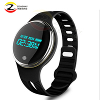 E07 Bluetooth 4.0 Sports Smart Bracelet IP67 Waterproof Fitness Tracker Smart Bracelet Call Reminder for Android iOS Huawei