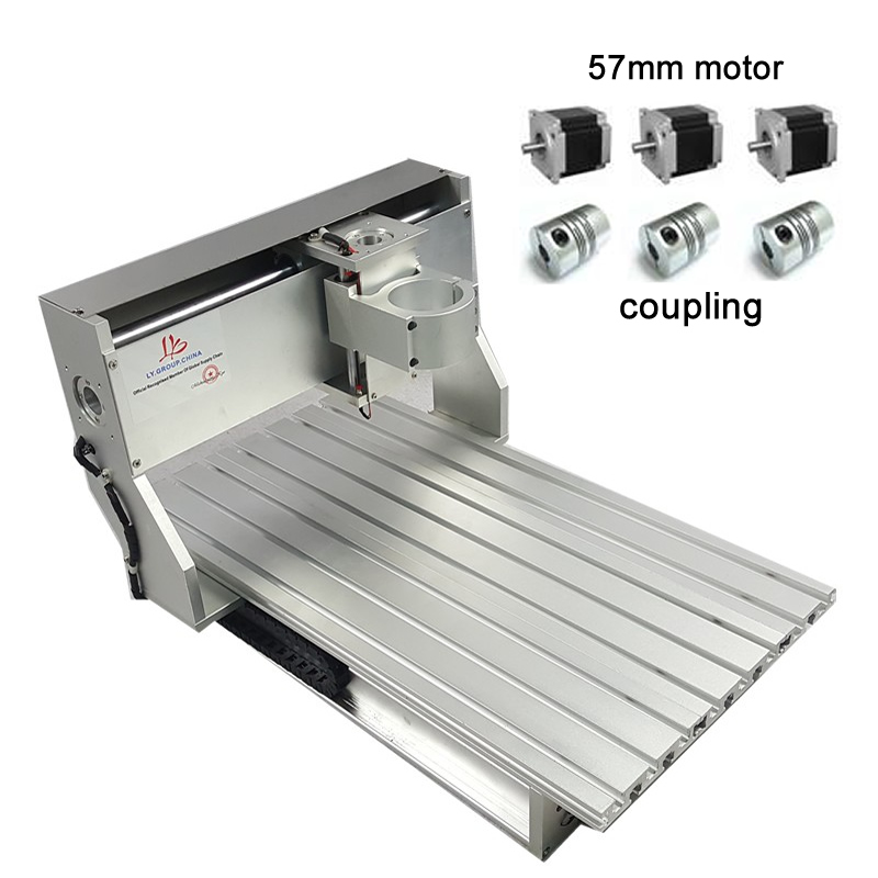 Diy mini cnc router frame 3040 machine spare parts with stepper motor limit switch 4030