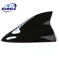 Plus Car Shark Fin Antenna For FIAT Freemont Panda Bravo Punto and Croma, Luxurious Aerials Replacement Auto Parts Accessories