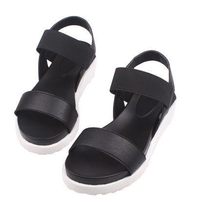 Gamiss Hot Women Sandals Female Summer Casual Flat Shoes Peep-toe Roman Sandals mujer sandalias Lady Flip Flops Sandal Footwear