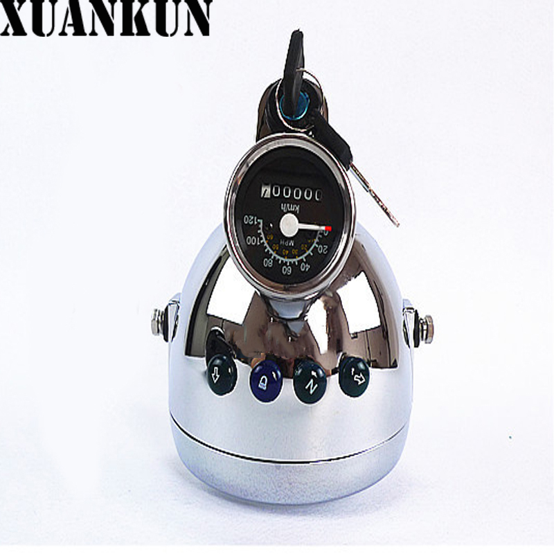 XUANKUN Motorcycle Accessories CG125 JH70 Lights Watches an Integral Headlight Excluding the Lock Core xuankun motorcycle accessories gn125h direction column hj125 8e under the board steering column page 4 page 5