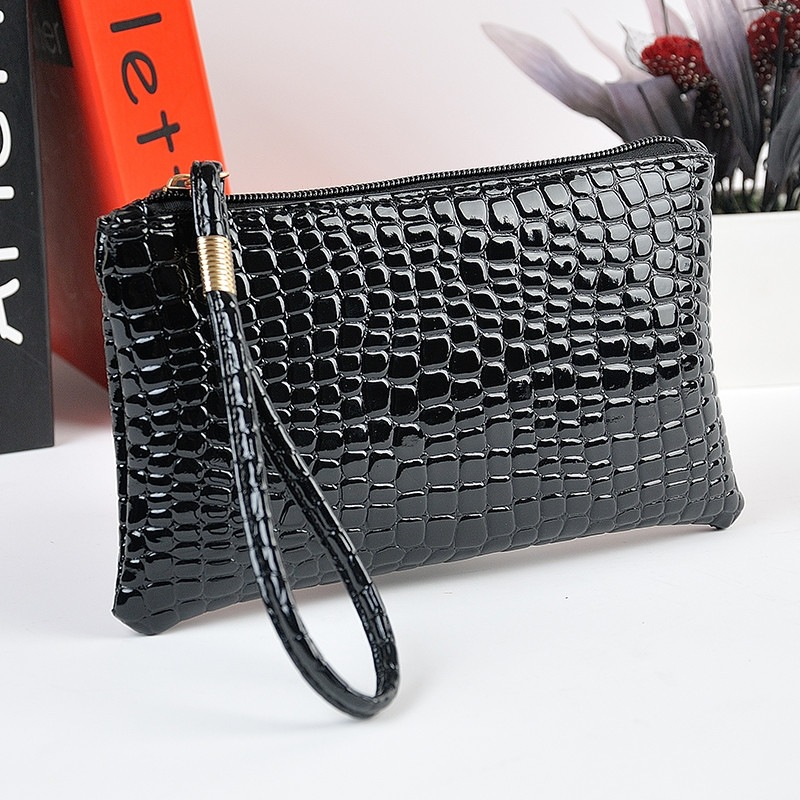 Fahion wallet Womens PU Leather Clutch Handbag Coin Purse purse Super quality