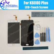 Oukitel K6000 プラス lcd ディスプレイ + タッチスクリーン 100% オリジナル液晶デジタイザの交換 K6000 プラス NSB55012A01 V00