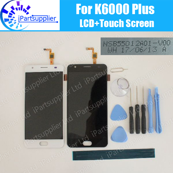 Oukitel K6000 Plus LCD Display+Touch Screen 100% Original LCD Digitizer Glass Panel Replacement For K6000 Plus NSB55012A01-V00