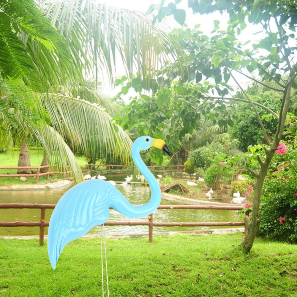 Large Garden Decoration Artificial Flamingos Courtyard Landscape