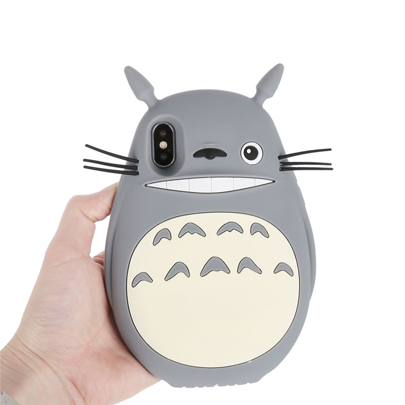 the best attitude cd198 7f1b5 Haissky 3D Cute Cartoon My Neighbor Totoro Phone Case For iPhone X ...