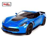 Maisto 1:24 2015 Chvrolet Corvette Z06 Diecast Model Car Toy New In Box Free Shipping 31133