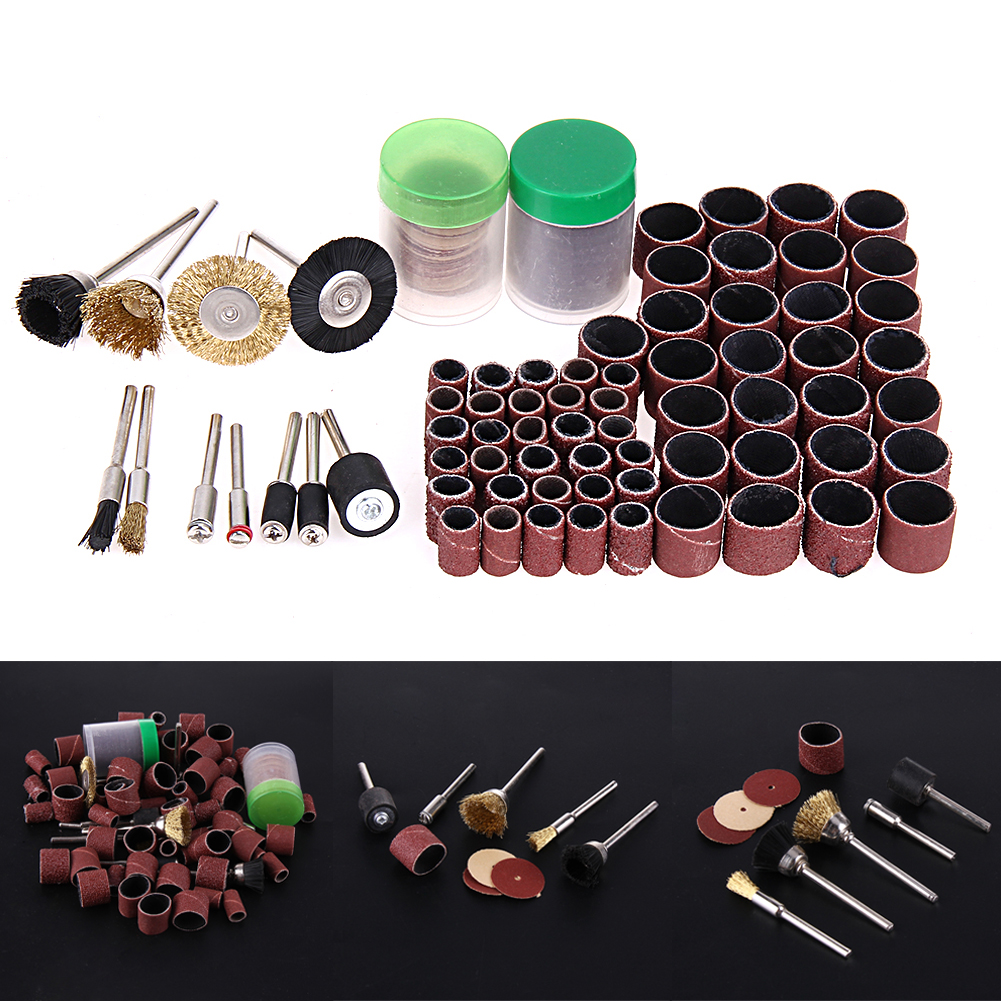 150pcs Rotary Tool Accessories Mini Drill Bit Set Fit Dremel Acessories Best Quality Complete Kit Includes Everything You Need For Cutting Grinding Carving Engraving Shaping Sanding Cleaning Polishing And