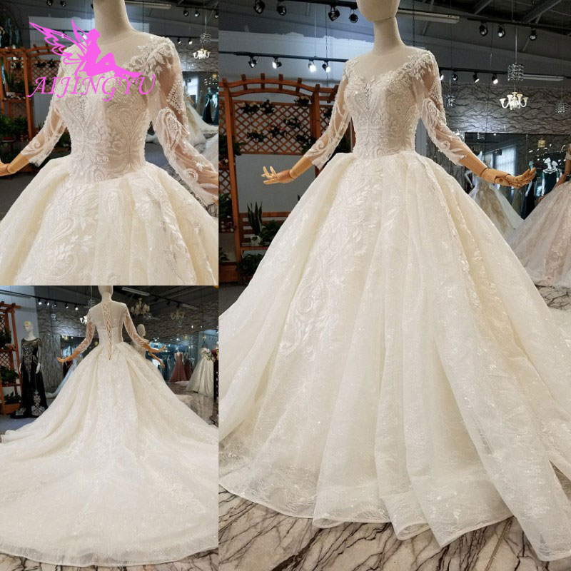 AIJINGYU Casual Wedding Dresses Moroccan Gowns Unique Western Isreal For Woman Uk Bridal Boutique Wedding Dress Top