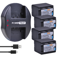 4x 3600mAh VW VBK360 VBK360 VW VBK360 Battery and Fast Charger for Panasonic HDC HS80 SD40 SD60 SD80 SDX1 SDR H100 H85 H95 HS60
