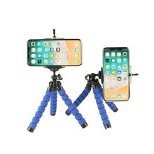 Octopus statywy stojak elastyczny uchwyt na telefon dla iPhone 5 SE 6 7 8 Plus X XS Max XR Apple 11Pro 11 Pro Max 2019 z Bluetooth tanie tanio wennew Z tworzywa sztucznego Elastyczny statyw Kamera wideo Działania Kamery 360 ° Kamera Wideo Punkt i Strzelać Kamery