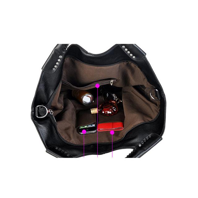 iCeinnight women leather handbags famous brand 2016 black fashion big casual tote long belt messenger bags high quality pu