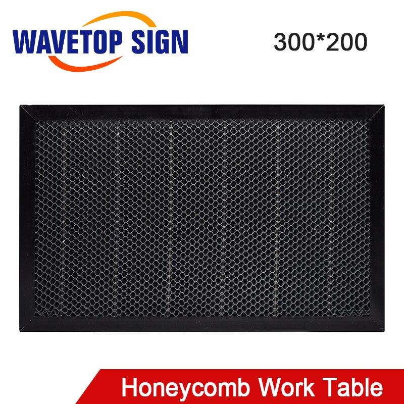 WaveTopSign Laser Honeycomb Working Table 300*200mm Size Board Platform Laser Parts For CO2 Laser Engraver Cutting Machine