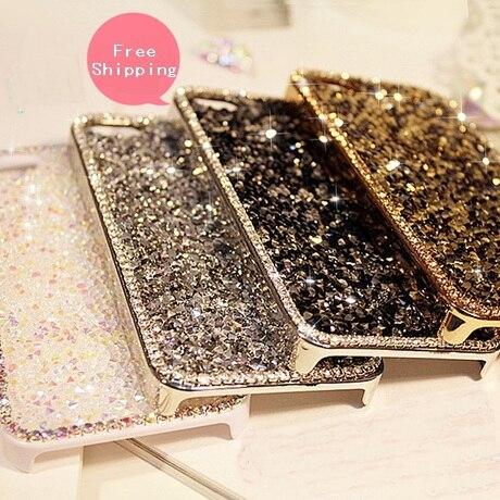 Luxury Shining Bling Crystal Rhinestone Hard Shell Case iPhone 4s 5 5s Full Diamond DIY iphone 6 6plus - SZ store