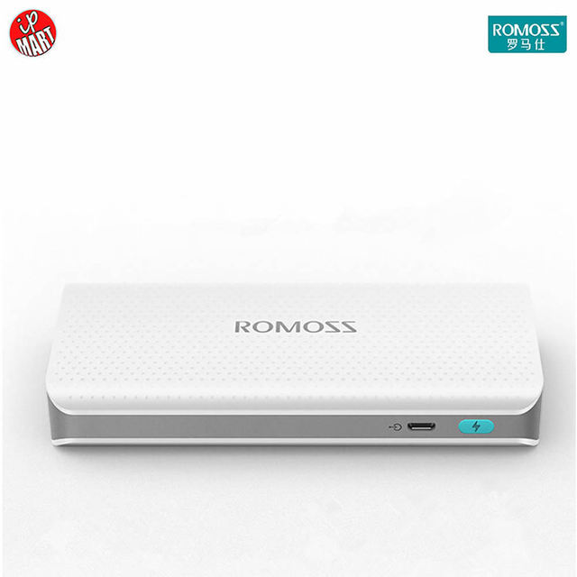 Original Romoss Sense4 Cargador LED 10400 mAh Banco de la Energía banco de Salida 5 V/1A Dual INTELIGENTE Puerto USB Externo Cargador de Batería móvil