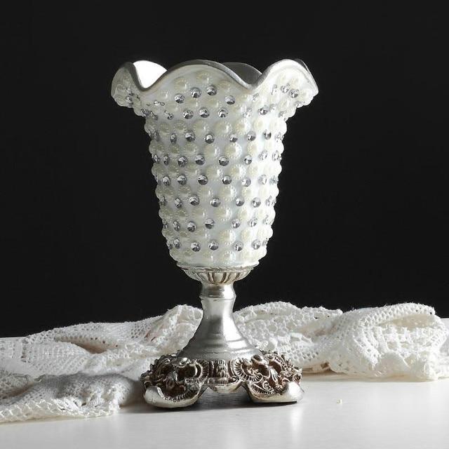 Neue Desgin Diamant Europäischen Kreative Harz Silber Hochzeits ...