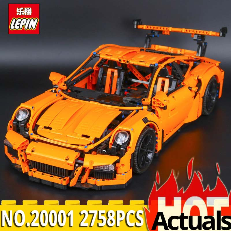 LEPIN Building Blocks 20001 Technic Series Race Car Model set Bricks Toys Compatible With legoINGs 42056 Gifts toys for children