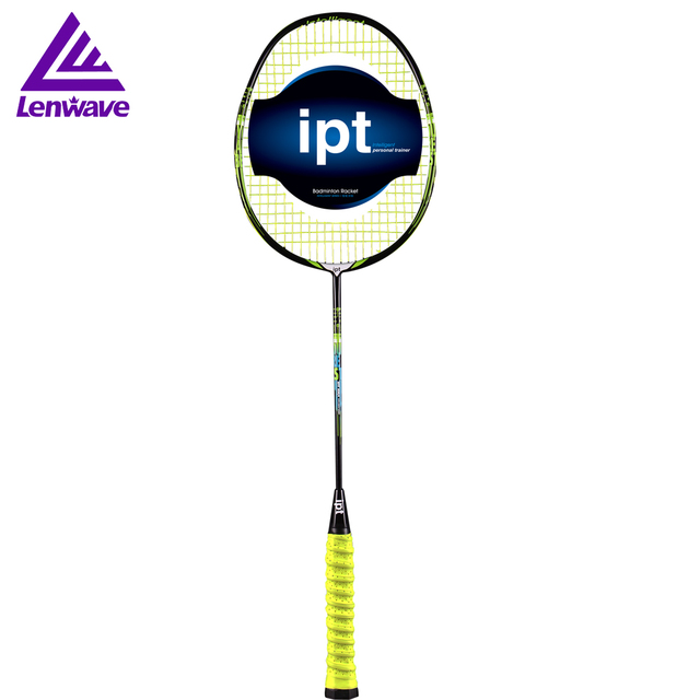 IPT Carbon Badminton Rackets Sports Training High Quality Multi Functional All