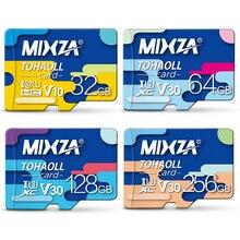 MIXZA Memory Card 256GB 128GB 64GB U3 80MB/S 32GB Micro sd card Class10 TF/SD Cards