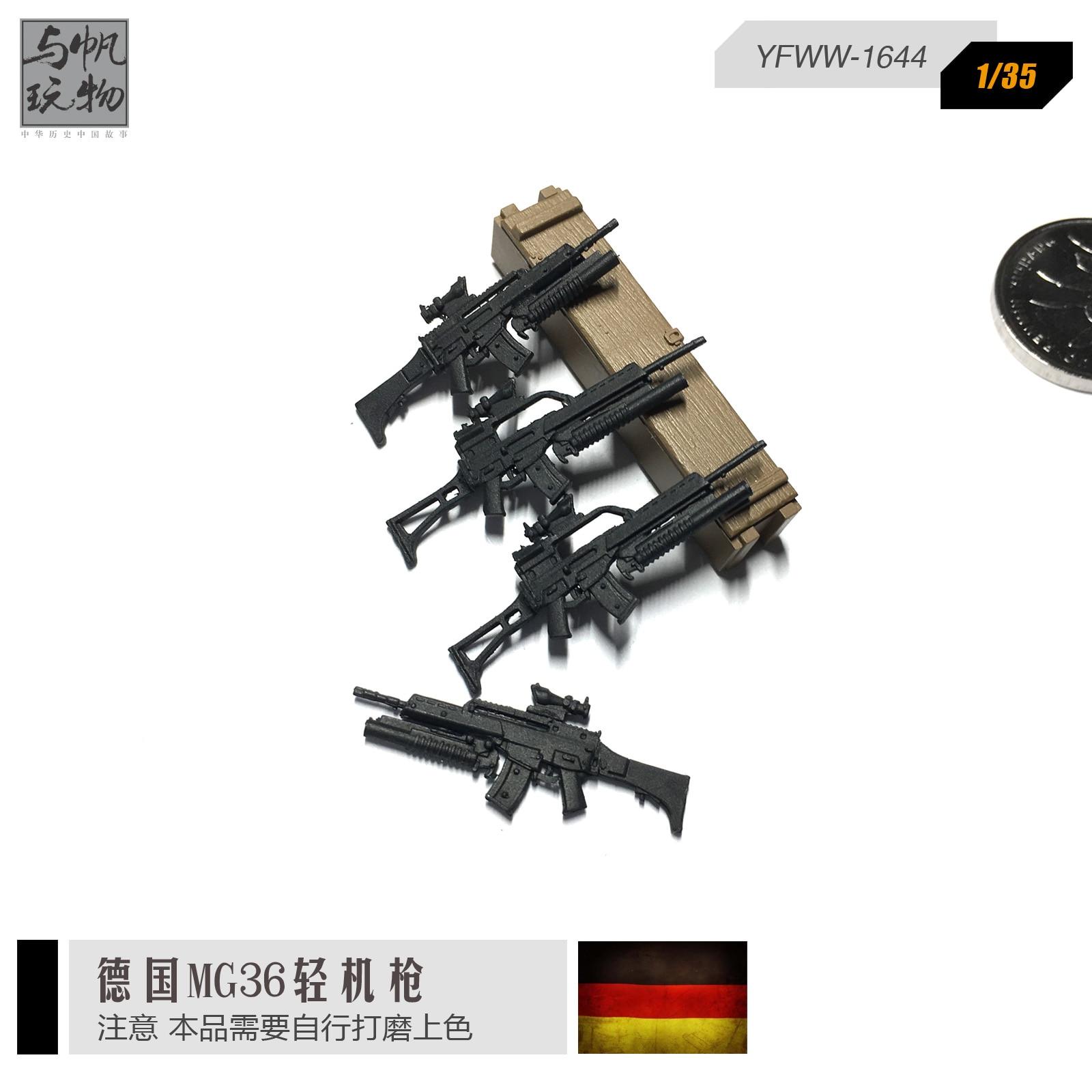 1/35 German MG36 light machine gun model 4 sets of weapons ... | 1600 x 1600 jpeg 179kB