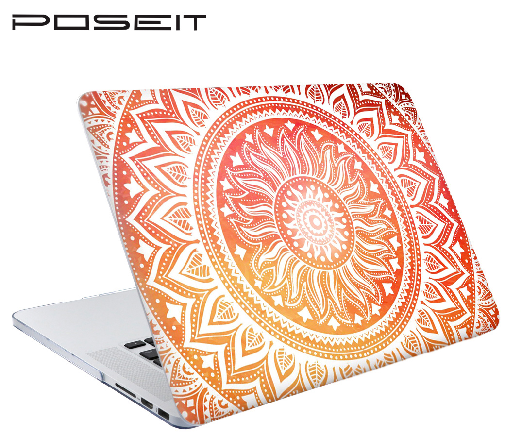 New Color Pattern Print Hard Case For Apple Macbook Air Pro Retina