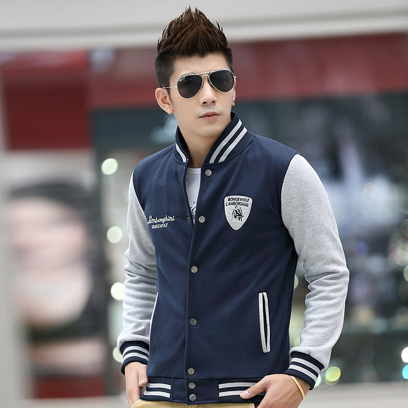 Big Size Baseball Jacket Men Fashion Classic Embroidery Summer ...