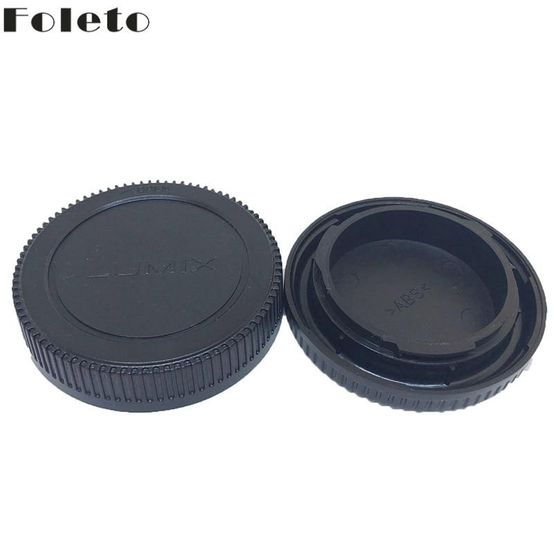 Foleto Rear cap + Lens Cap camera Lens Protector for Micro 4/3 M4/3 Olympus PEN E-P1 PL3 Panasonic LUMIX DMC-GF1 GF2 GH1 G10 G3 new lcd touch screen for panasonic lumix dmc gf2 for gf2 for gk digital camera repair part