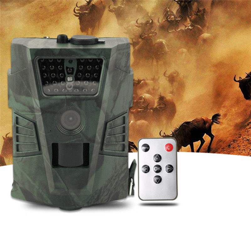 HT001 Hunting Camera 1080P 720P 940NM 12MP 60 Degrees Detection Infrared Night Version Wildlife Trail Cameras Trap NO LCD Screen hunting camera 940nm 12mp photo traps infrared night vision motion detection outdoor wildlife trail cameras trap no lcd screen
