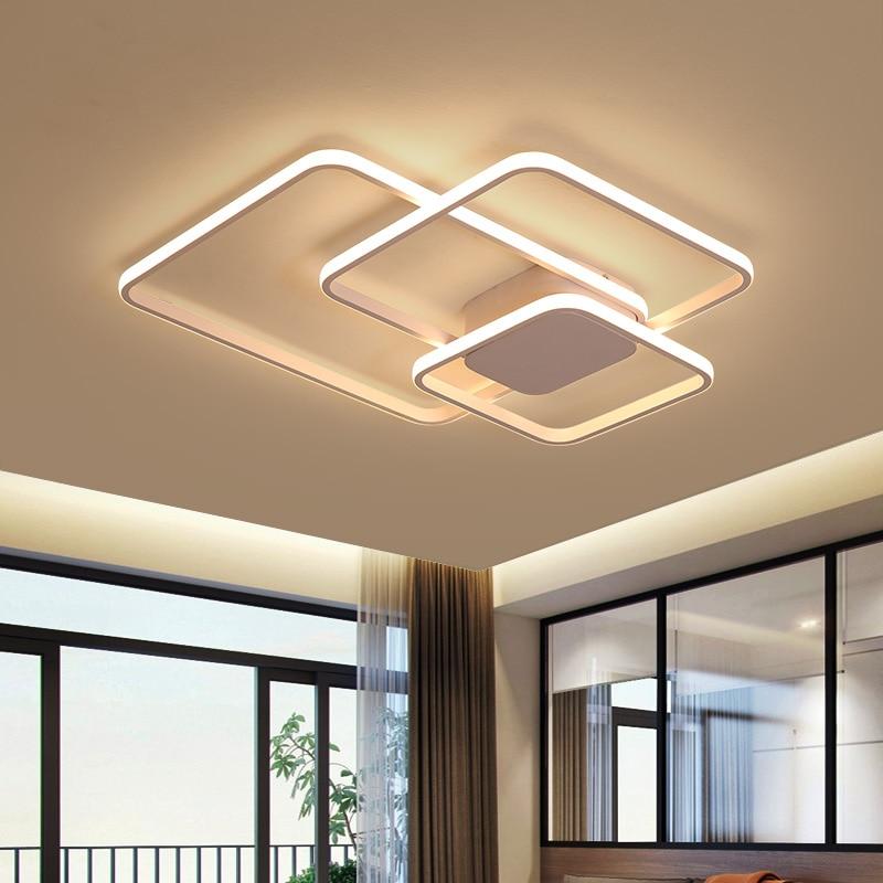 Moderne Aluminium Welle Decke Lichter Led Lampe Fur Wohnzimmer