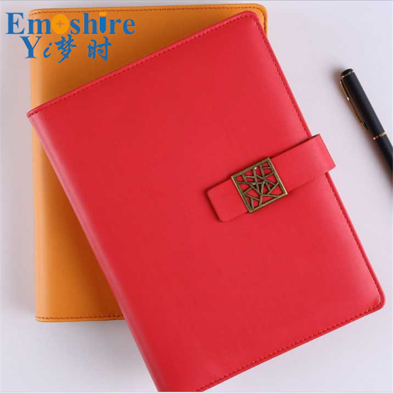 fabrica de artigos de papelaria do escritorio de negocios high end personalizado loose leaf notepad note