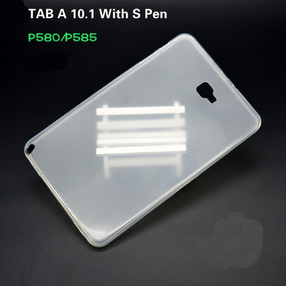 CucKooDo para Galaxy Tab A 10.1 con S Pen, funda blanda de goma de - Accesorios para tablets - foto 3