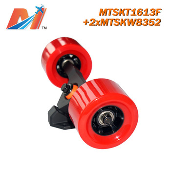 Maytech (3pcs) 83mm electric longboard wheel 2pcs and front truck 1pc for motor surfboard