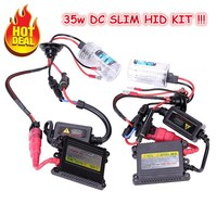 Hid Xenon Kit DC Slim HID Conversion Kit 12v 35w Hid Kit Dual Beam H4 2