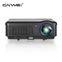 CAIWEI A6 4200 люмен Full HD 1080 P проектор ЖК дисплей проектор светодиодный ТВ проектор HDMI цифрового Портативный Аудио Видео дом театр