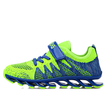2016 Summer Children Breathable Sport Knit Shoes Kids Comfortable Running Sneakers Boys Girls Kd Sandal Kinderschoenen Trainers