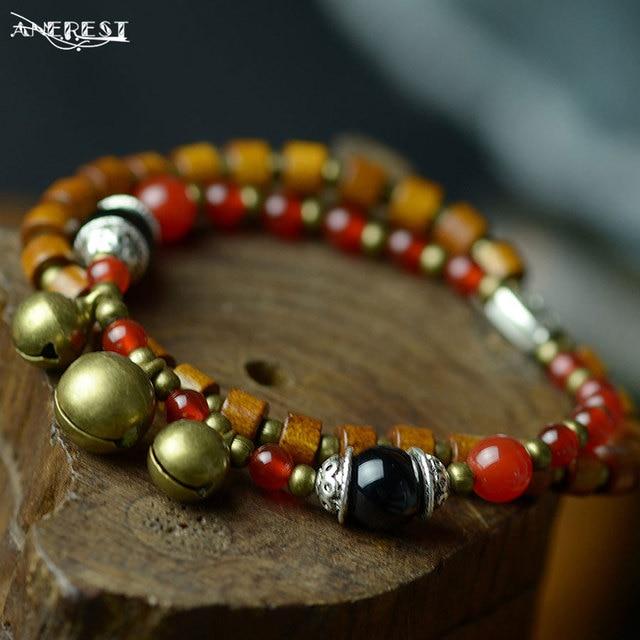 be936092ed20 Comercio al por mayor étnica granos del encanto pulseras y brazaletes para  las mujeres accesorios de