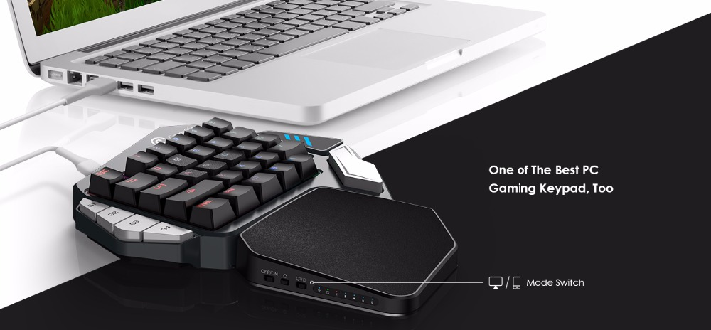 US $67 59 48% OFF|GameSir Z1 Gaming Keypad for FPS Mobile games, AoV,Mobile  Legends, RoS  One handed Cherry MX red switch keyboard/BattleDock-in