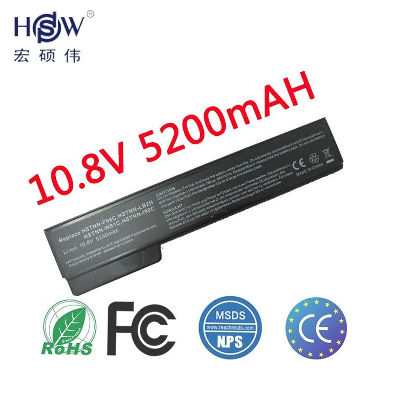 HSW LAPTOP Batteri för HP 8460p 8460w 8470p 8470w 8560p 8570p 6360b batteri för laptop 6460b 6465b 6470b 6475b 6560b 6565b 6570b