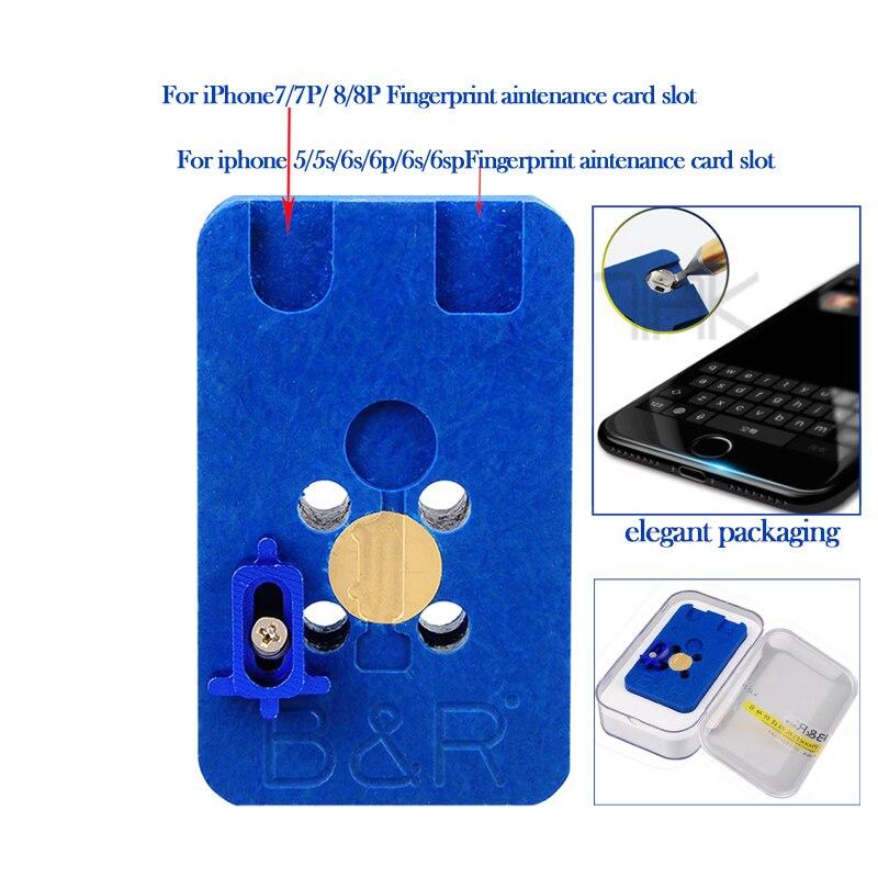 все цены на Special-purpose Fingerprint Home Button Fast Fingerprint Repair Fixture for iPhone 8 8p 7 7p 6s 6sp 6 6p 5s 5g онлайн