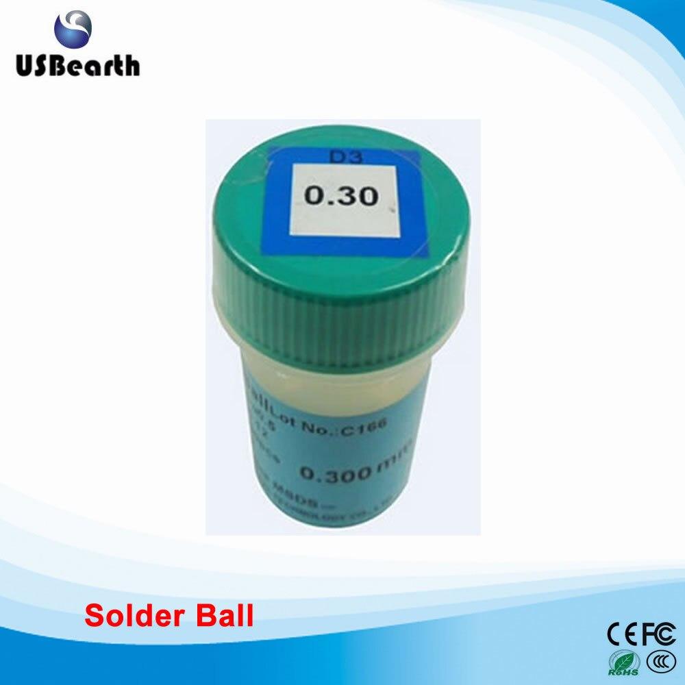 PMTC 250k 0.3mm lead-free solder balls for BGA rework reballing lead free bga solder balls 250k 0 35mm for bga repair bga reballing kit bga solder ball