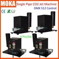 4 pcs/lot stage smoke machine DMX 512 Kryo FX CO2 Cannon Co2 Jet Fog Blaster Special CO2 Effects