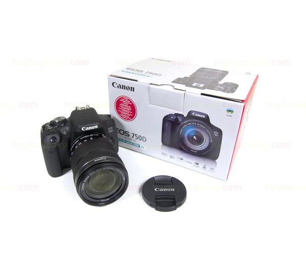 Canon EOS 750D SLR Camera Body with EF-S 18-135mm IS STM Lens