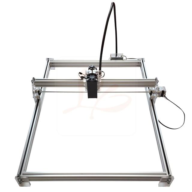 500 mw 2500 mw 10000 MW DC 12 V DIY שולחן העבודה עץ מיני 5065 לייזר חריטת מכונת CNC נתב גילוף גודל 50*65 cm