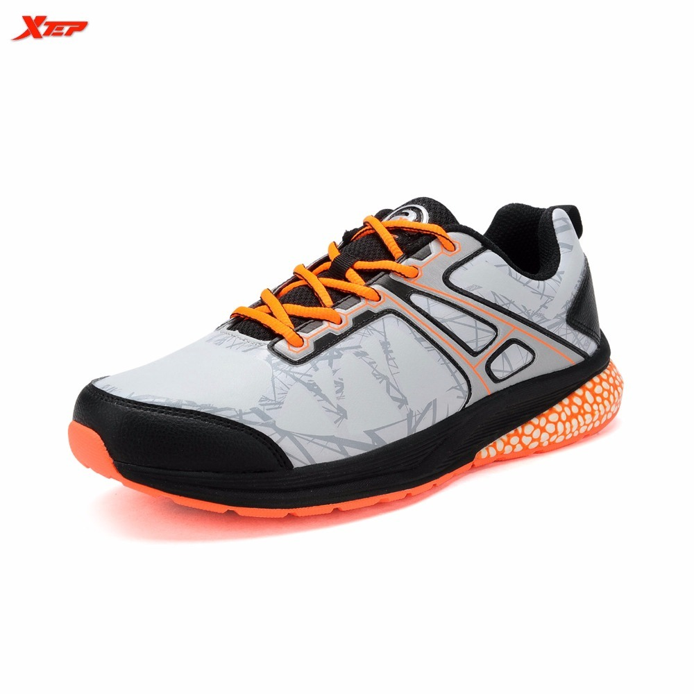 XTEP Original Brand Running For Men Professional Trainning Trainers Comfortable Athletic DMX Shocking Proof Sports Shoes Outdoor original li ning men professional basketball shoes