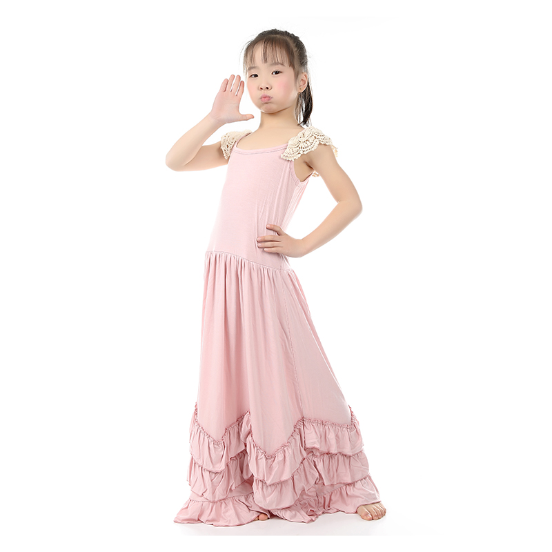 23c417f46bba5 5 Piece   lot Girls Clothes 2016 Baby Girl Dress Boutique Clothing  Wholesale Baby Boutique Clothing Kids Maxi Dresses