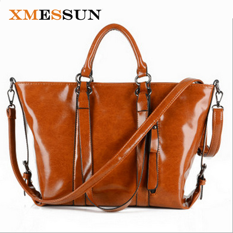XMESSUN Brand Genuine Leather Women Bag Women Messenger Bags Real Natural Leather Crossbody Shoulder Bags Women Handbag Tote A37-in Top-Handle Bags from Luggage & Bags    1