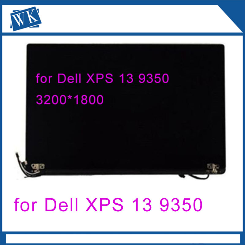 Genuine 13.3'' Laptop LCD Screen Panel Digitizer Assembly for Dell XPS 13 9350 Touch Replacement 3200*1800
